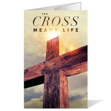 Cross Means Life Bulletin