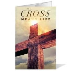 Cross Means Life Bulletin