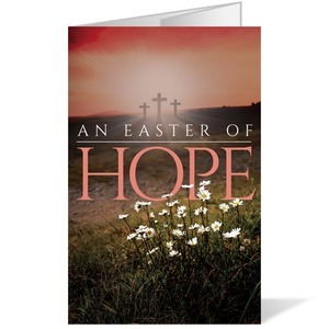 Easter Hope Daisy 8.5 x 14 Bulletins