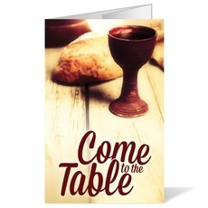 Come To the Table Bulletin