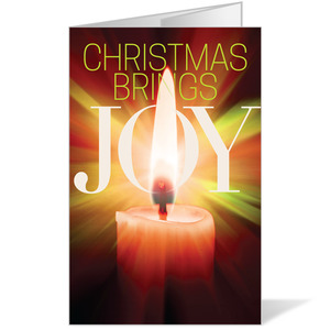 Joy Candle Bulletins