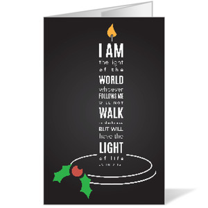Light of the World Candle Bulletins