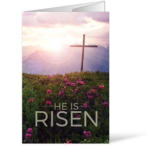 He Is Risen Mountain Bulletins