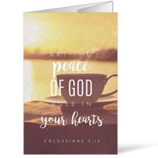 Photo Scriptures Col 3:15 Bulletin