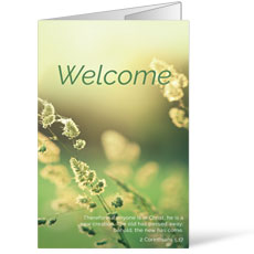 Welcome Season Spring Bulletin