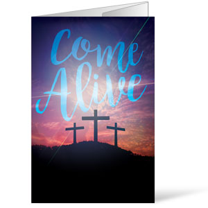 Come Alive Easter Journey Bulletins
