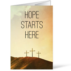 Hope Starts Here Calvary Bulletin