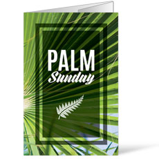 Green Palm Leaf Bulletin