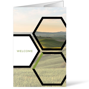 Welcome Hexagon Summer Bulletins