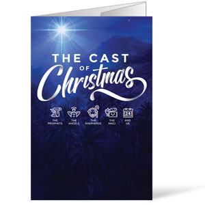 The Cast of Christmas Bulletins
