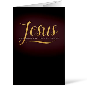 Jesus True Gift Bulletins