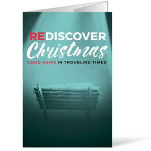 ReDiscover Christmas Advent Manger Bulletins