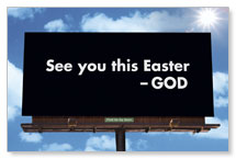 Easter Billboard Banner