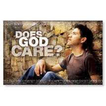 Does God Care Banner