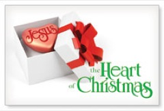 Jesus Heart of Christmas Banner