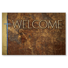 Leather Welcome Banner