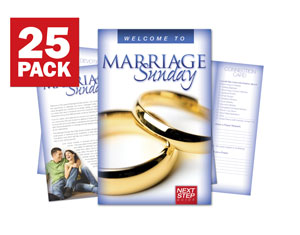 Marriage Sunday Next Step Bulletins