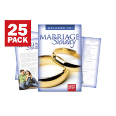 Wow! Sunday Marriage Sunday Bulletin Guide