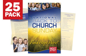 Back to Church Sunday Bulletin Guides