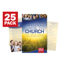 Back To Church Sunday 2012 Bulletin Guide