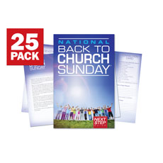 Back To Church Sunday 2013 Bulletin Guide