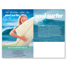 Soul Surfer Movie Event Bulletin Insert