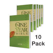 One Year Bible Compact 10 pack