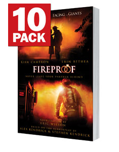 FIREPROOF - the Novel