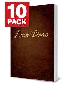 The Love Dare & Bumper Stickers -10 pack