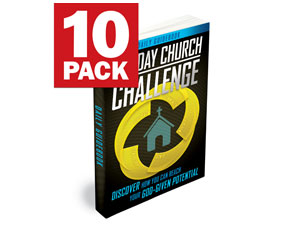 30-Day Church Challenge Book - 10 pack