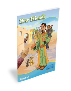 BTC DiscipleLand Preschool Packet