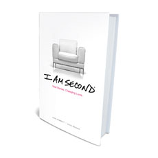 I Am Second Hardcover Book