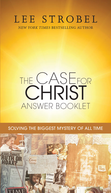 The Case for Christ Answer Booklet Books