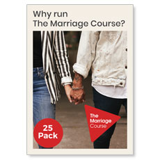 Alpha: Why Run The Marriage Course 25 Pack