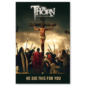 The Thorn Cross LED LightBox Graphics