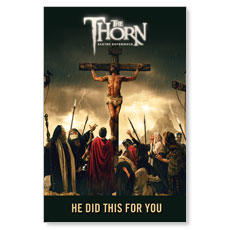 The Thorn Cross LED LightBox Graphic