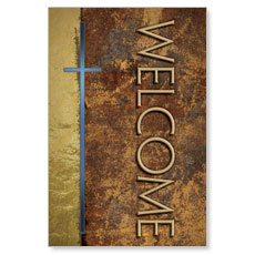 Leather Welcome LED LightBox Graphic
