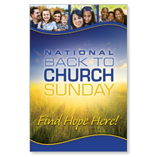 Back To Church Sunday 2012 LED LightBox Graphic