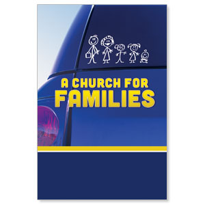 Church for Families LED LightBox Graphics