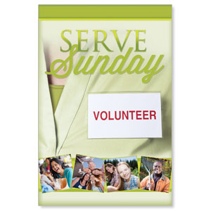 Wow! Sunday Serve Sunday LED LightBox Graphics
