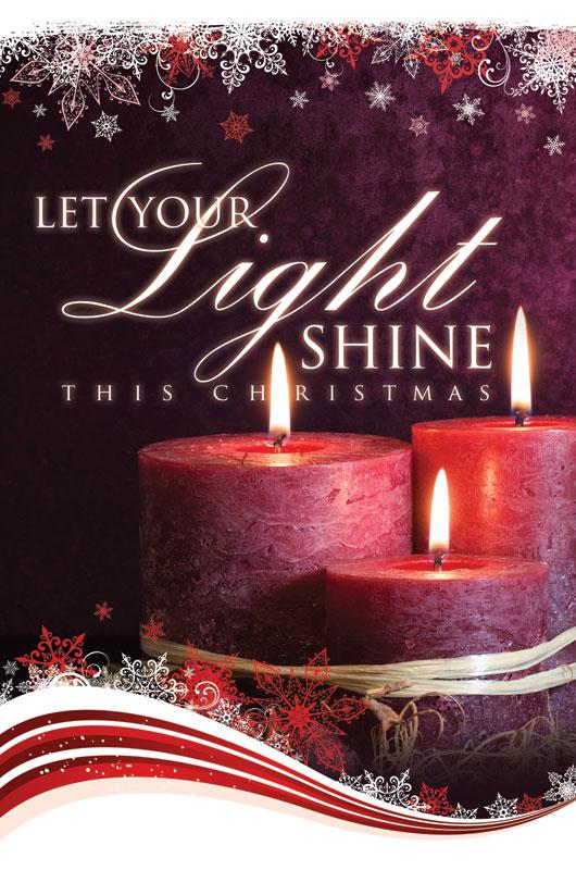 Light Shine Christmas Lightbox Graphic Church Banners