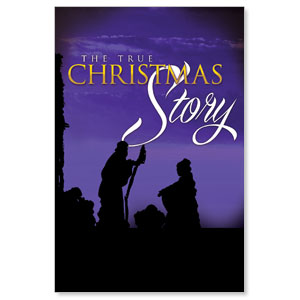 True Christmas Story LED LightBox Graphics