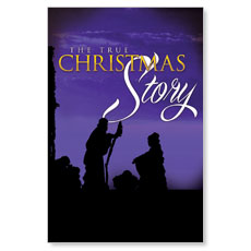 True Christmas Story LED LightBox Graphic