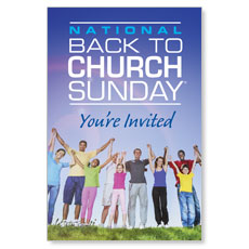Back To Church Sunday 2013 LED LightBox Graphic