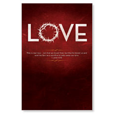 Real Love LED LightBox Graphic