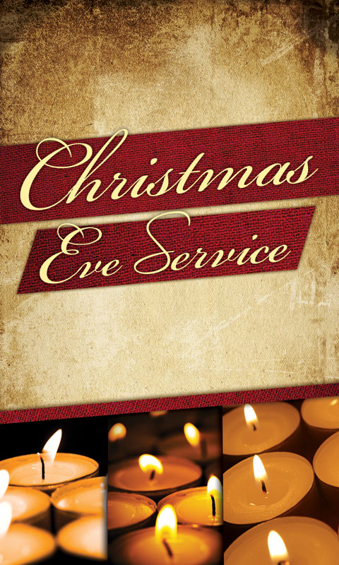 Christmas Eve Lights Lightbox Graphic Church Banners