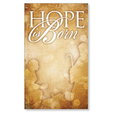 Hope is Born LED LightBox Graphic