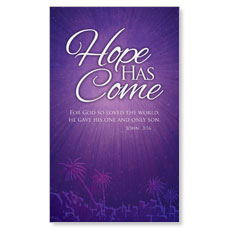 Hope Has Come LED LightBox Graphic