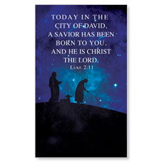Celebrate the King Lk 2:11 LED LightBox Graphic
