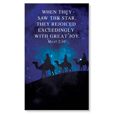 Celebrate The King Matt 2:10 LED LightBox Graphic